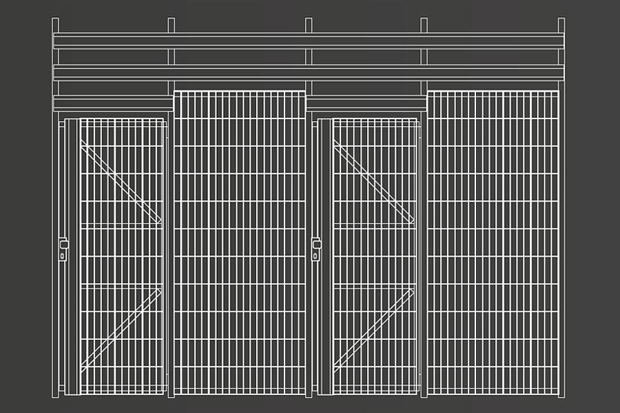 Trennwand TWS SG Keller-Trennwandsysteme
